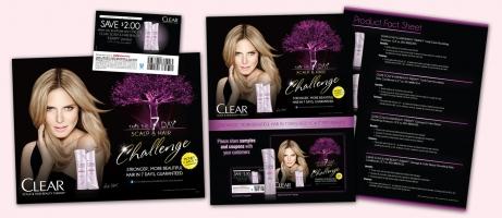 Clear Easel Card, Customer Coupon & Beauty Advisor Sell Sheet