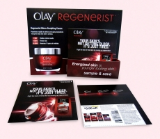 Olay Brochure Holder Display