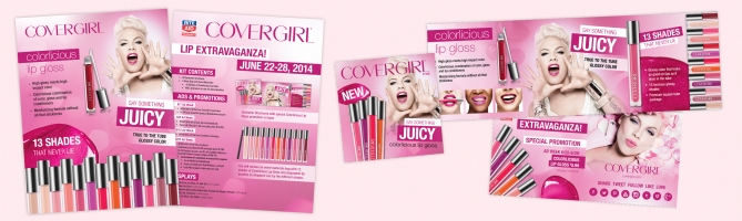 CoverGirl Lip Event Promotion