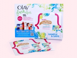 Olay Fresh Effects Display
