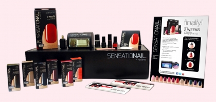 SensatioNail Custom Display