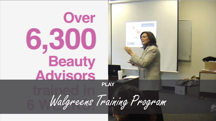 Training Programs - Cosmetic Promotions