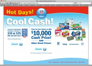 HotDaysCoolCash.com Sweepstakes