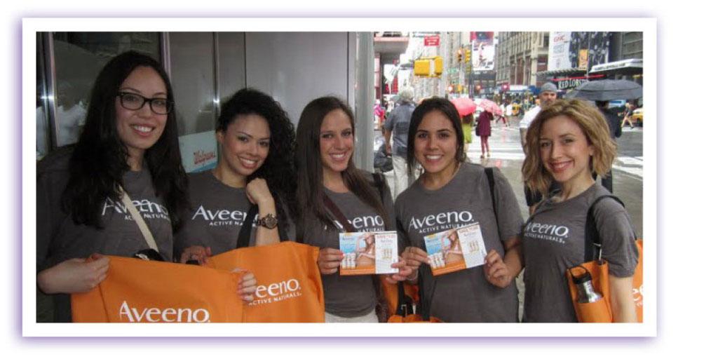 aveeno-street-team